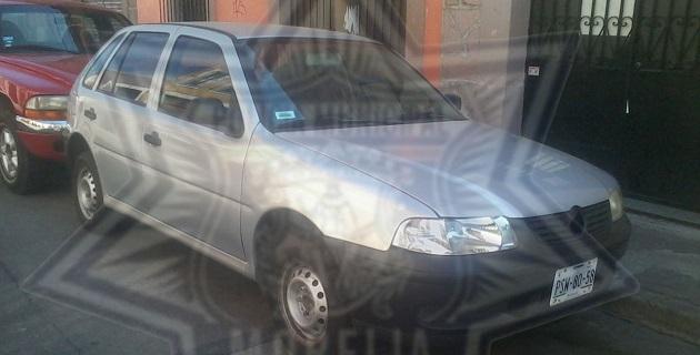 Fueron recuperados un Jetta gris, una camioneta Nissan Pick-Up negra y un Pointer gris plata