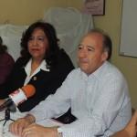 A la firma asistió la jefa del departamento de Asistencia Jurídica, Irma Villagómez Carbajal