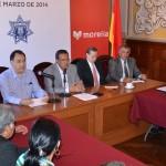 El edil moreliano agradeció a todos los integrantes del Consejo Ciudadano de Seguridad y Gobernanza urbana de Morelia, y les invitó a cerrar filas en favor de la ciudadanía