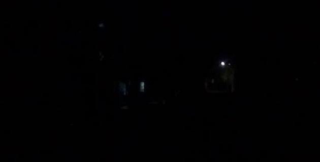 Así lucían anoche las calles de la colonia Precursores de la Revolución en la capital del estado