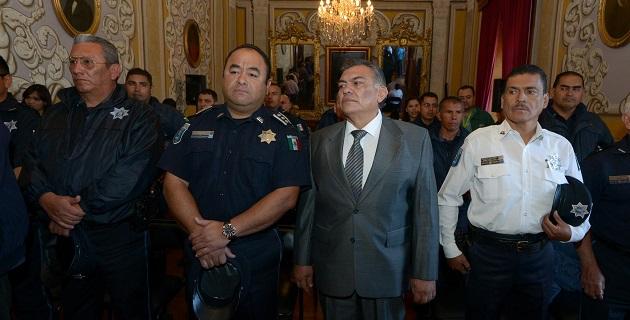 Sánchez Noriega comprometió todo su esfuerzo por mantener la seguridad y tranquilidad de los morelianos