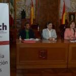 La conferencia fue dirigida los servidores públicos del Ayuntamiento de Morelia, estuvo presidida por el síndico municipal, Salvador Abud Mirabent y el director Jurídico, Jesús Ayala Hurtado