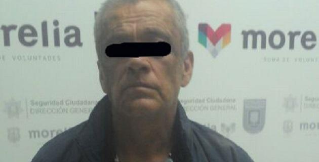 Jorge B. presunto responsable de este hecho, cuenta con 56 años de edad, es originario de este municipio y dijo ser de oficio pintor; su domicilio es en la colonia Ventura Puente