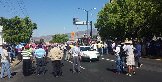 Los puntos de los cuales han partido las movilizaciones son la Salida a Salamanca; la Delegación del ISSSTE; la Plaza Morelos; y, la colonia Tres Puentes