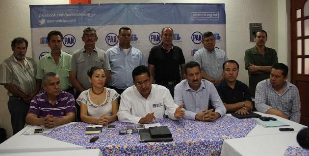 La alternancia política, a favor del PAN, se está fraguando ya en Tierra Caliente, aseveró Chávez Zavala