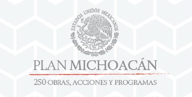 A través del portal www.presidencia.gob.mx/PlanMichoacan/, se podrá consultar los avances de estas acciones, donde también se mostrarán las etapas de cada una de ellas