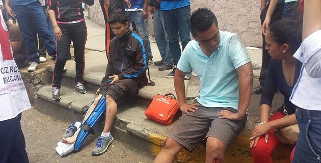 Los hospitalizados son Rosa Hernández Reyes, de 30 años de edad; Francisco Javier Martínez Tapia, de 23 años; Gerardo Reyes Guerrero, de 22; y, Juan Manuel Gonche Pahuamba, de 21