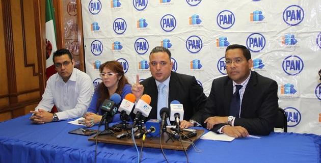 Acción Nacional espera que continúen las investigaciones a funcionarios para contrarrestar la corrupción que existe en la estructura gubernamental