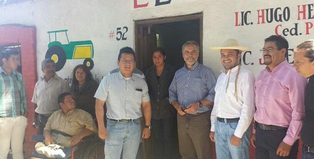 Ante el líder nacional de El Barzón, Alfonso Ramírez Cuéllar, Torres Piña destacó que la reciente lucha del movimiento social se enfoca también a la lucha por la soberanía alimentaria
