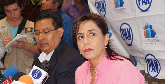 De acuerdo con la ex candidatura a la gubernatura, el ex presidente Felipe Calderón hizo cuanto pudo por Michoacán, pero también fue respetuoso de la soberanía estatal