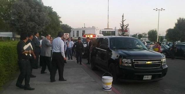 Uno de los lesionados fue trasladado al IMSS de Charo y el otro a Star Médica