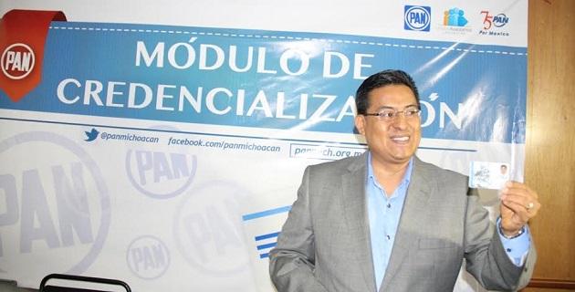 Chávez Zavala añadió que estas tarjetas de identidad además darán continuidad al refrendo realizado en 2012 y 2013, otorgándole a la militancia una herramienta que contribuye a la transparencia y legalidad de los procesos internos