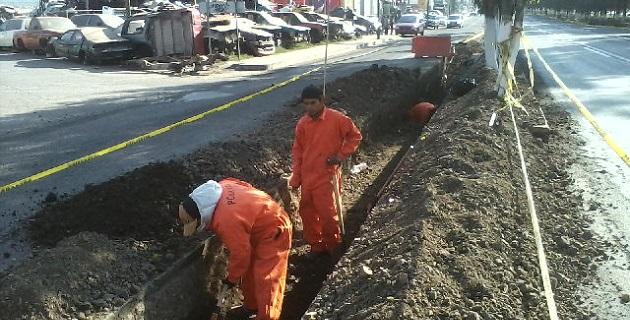 Con la construcción del Acuaférico se proveerá de 150 litros por segundo de agua a la zona norponiente de Morelia, desde la zona del Quinceo hasta Torreón Nuevo