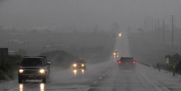 Para las próximas 24 horas se prevén lluvias en la totalidad del territorio michoacano