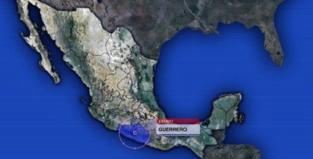 A las 2:36 de esta madrugada fue registrado un sismo de 5.9 grados en la escala de Richter con epicentro a 38 km al suroeste de Tecpan en Guerrero, informó el Servicio Sismológico Nacional