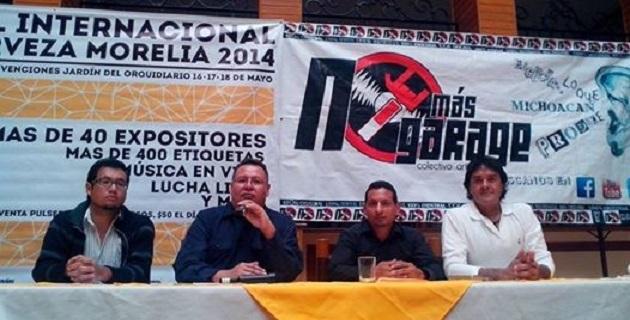 Músicos de Michoacán, el Estado de México, Jalisco y hasta Venezuela se presentarán en el magno evento que reunirá a 58 productores de cerveza artesanal en el país