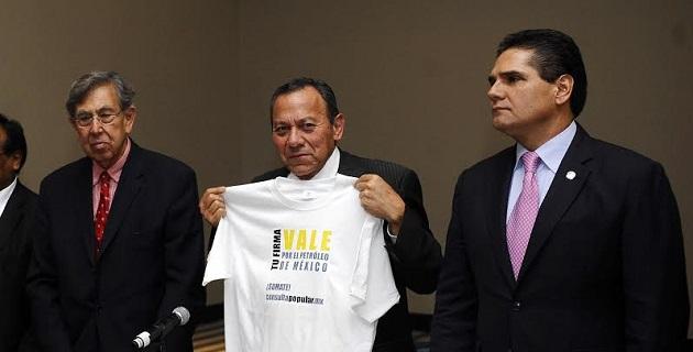 Aureoles Conejo se dijo convencido de que todos los michoacanos apoyarán de nueva cuenta para juntar las firmas que permitan cumplir con la meta de alcanzar los 4 millones que el partido se ha fijado en esta nueva etapa