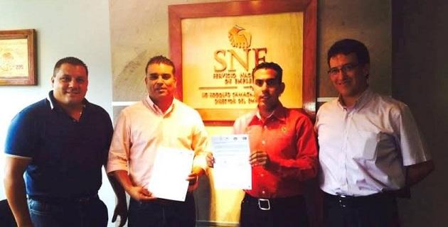 Rodolfo Camacho Ceballos indicó que el SNE dará capacitación al personal que designe el SNTSA para la atención y orientación de cómo encontrar un empleo