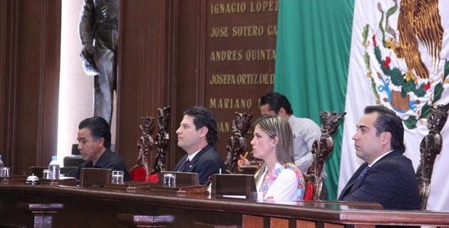 En otro tema, se notificó al pleno de la 72 Legislatura que el Cabildo de Tuxpan elevó al rango de tenencia a la comunidad de La Soledad
