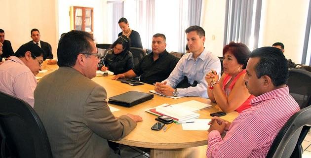 Se llevó a cabo reunión de evaluación, revisión y seguimiento para concretar esta adhesión, mediante la cual se busca garantizar un clima de paz a la ciudadanía