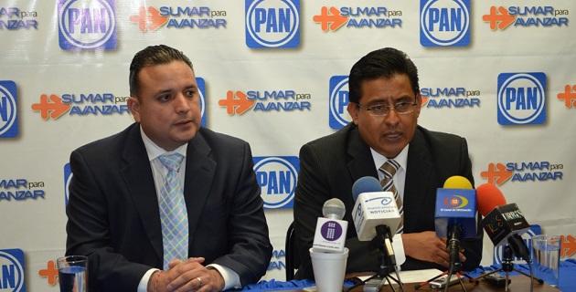 Quintana Martínez es secretario general de la dirigencia estatal, ex secretario general de Acción Juvenil en Michoacán y ex diputado local
