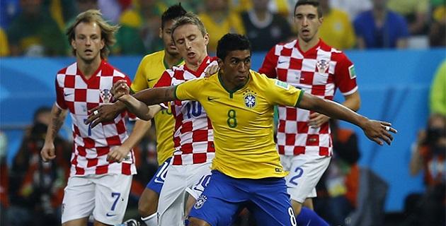 Croacia intentó reponerse y al menos salvar el empate, pero no pudo concretar sus llegadas de peligro
