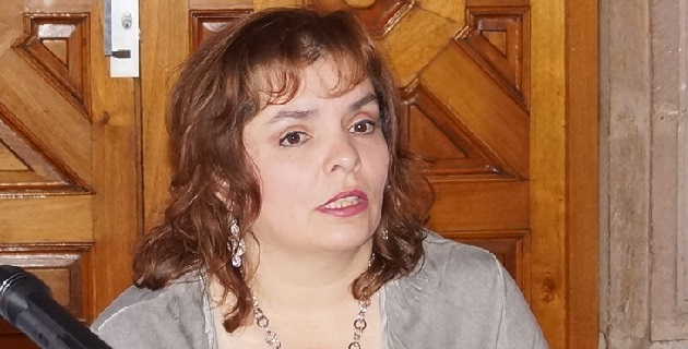 La diputada insistió en que el titular de la SSP está obligado a despejar sus dudas en materia de seguridad en Michoacán