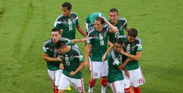 El gol mexicano llegó al minuto 60, con un contrarremate de Oribe Peralta, luego de un tiro de Giovani Dos Santos que fue rechazado
