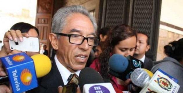 Jara Guerrero también reiteró su reconocimiento al Congreso del Estado por la designación de Alejandro Villanueva del Río como alcalde de Apatzingán