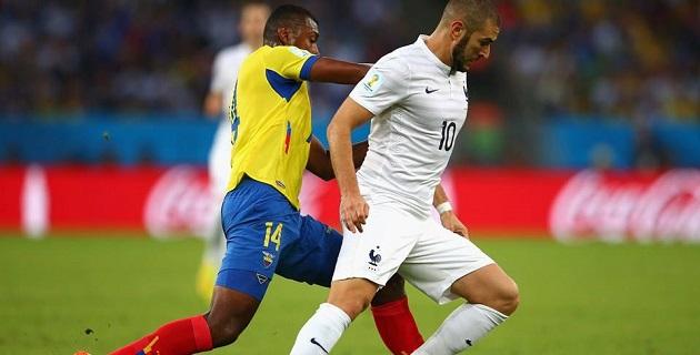 Francia anduvo mucho menos arrolladora en su tercer juego de la Fase de Grupos; llegó a este duelo luego de marcar ocho goles en sólo 180 minutos; en esta ocasión, aunque generó múltiples ocasiones, ninguna entró