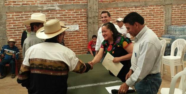 En la entrega de certificados estuvieron presentes Omar Muñoz García, delegado del RAN