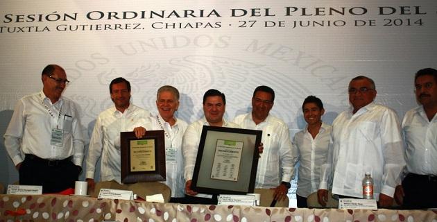 Durante su participación en esta reunión del máximo órgano deportivo de México, Lázaro Medina expresó su agradecimiento al director de la Conade por el continuo apoyo que ha dado a Morelia