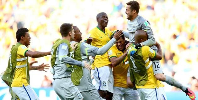 Brasil jugará el partido de cuartos de final contra el ganador del partido Colombia-Uruguay en el estadio Castelao de Fortaleza el viernes 4 de julio, a las 17:00 hora local