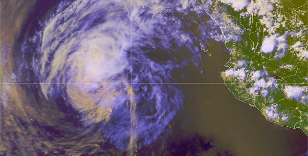 También se esperan lluvias muy fuertes en Jalisco y Colima, y fuertes en Sinaloa y Nayarit, incluyendo a las Islas Marías