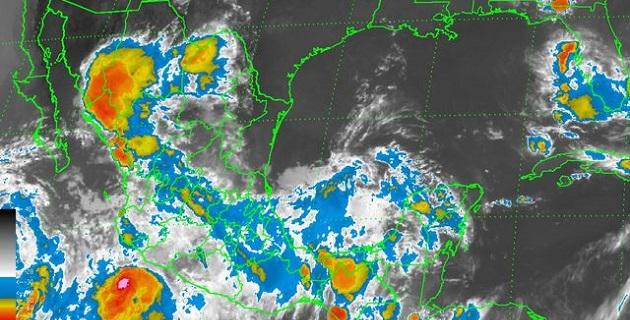 A las 19:00 horas, tiempo del centro de México, la tormenta tropical Elida, se ubicó aproximadamente a 140 km al suroeste de Punta San Telmo, Michoacán, y a 180 km al sur de Manzanillo, Colima