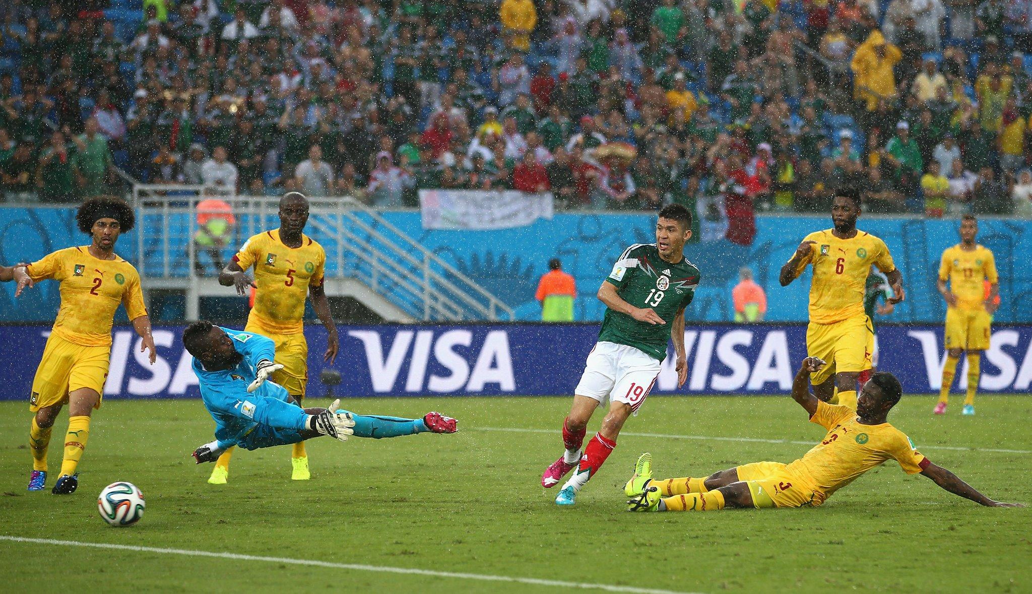 La determinación y la aplicación de lo que se trabajó durante los entrenamientos, fue lo que dejó contento y satisfecho a Herrera tras la victoria de 1-0 sobre Camerún en la Arena das Dunas