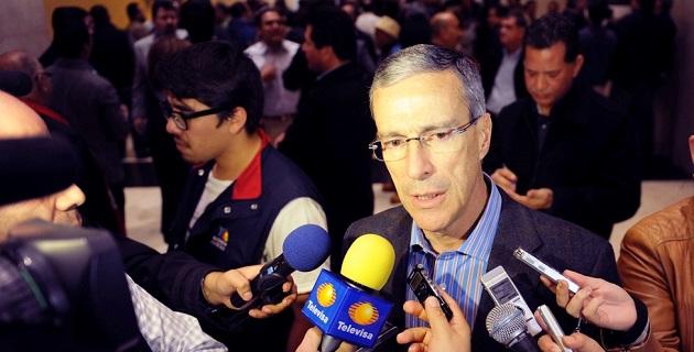 González Morfín estimó que para el 10 de agosto podría quedar aprobada la legislación secundaria en materia energética en ambas cámaras.