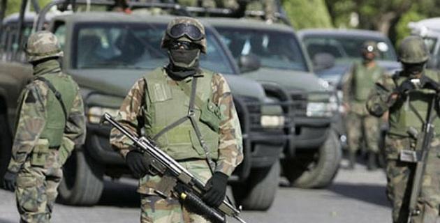Alertados por una llamada anónima, elementos del Ejército Mexicano  localizaron un narcolaboratorio en el municipio de Charo, colindante con la capital Morelia
