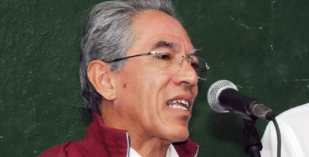 El mandatario estatal también se reunió con el director general del CONACYT, Enrique Cabrero, previo a la gira de trabajo por Michoacán del funcionario federal