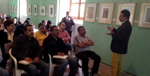 El evento fue realizado en las instalaciones del Colegio Jesuita de la Casa de la Cultura de la ciudad de Pátzcuaro