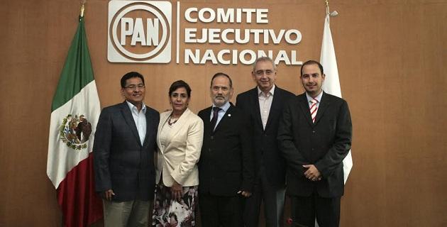Los liderazgos integrados en la nueva mesa política son los senadores Luisa María Calderón y Salvador Vega, así como por el consejero nacional Marko Cortés
