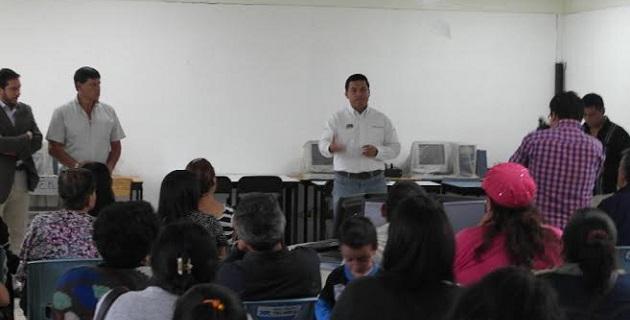 Se buscará el respaldo de la SEE, a través de las direcciones de las escuelas primarias y secundarias para sumar acciones en beneficio de niños y jóvenes: López Mújica
