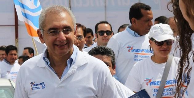 Vega Casillas agregó que el PAN tiene posibilidades reales de colocarse como la principal fuerza política en Michoacán justo ahora que concurren las elecciones para elegir al siguiente gobernador