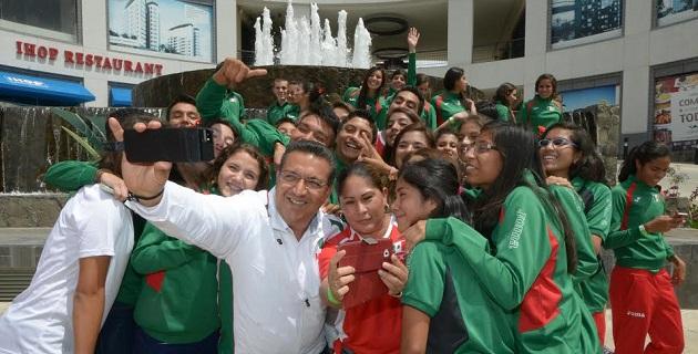 Lázaro Medina afirmó estar muy orgulloso de lo que se está logrando en el ámbito deportivo, por lo que invitó a todos los morelianos y a todos los michoacanos para que vengan a Morelia este fin de semana