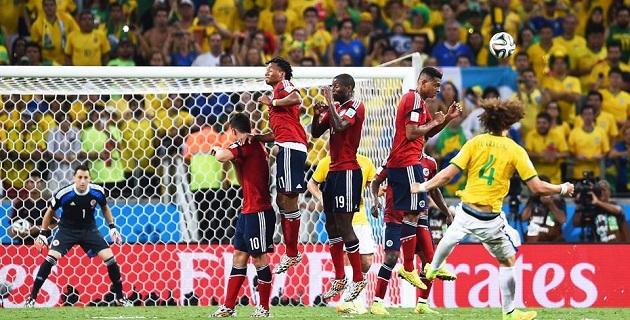 El primer cruce ya definido de semifinales entre Brasil y Alemania se jugará el 8 de julio en Belo Horizonte