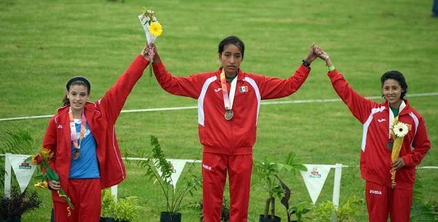 Vivian Castillo fue la primera atleta mexicana en colgarse medalla de oro en el  XX Campeonato Centroamericano y del Caribe Juvenil