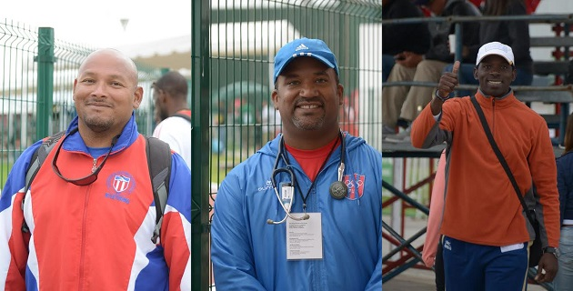"""""""Las instalaciones son magníficas; de nivel mundial"""", señaló Raúl Duany, entrenador de origen cubano, ex atleta, campeón mundial, campeón centroamericano y gloria del deporte cubano"""