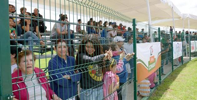 Personal del Ayuntamiento de Morelia asistió como cada uno de los días anteriores a apoyar a cada una de los países presentes a este campeonato
