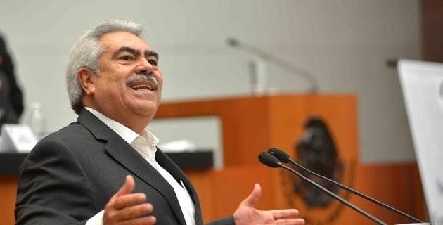 El PRI votará a favor porque se garantiza un conjunto de reglas claras, dijo Orihuela Bárcenas