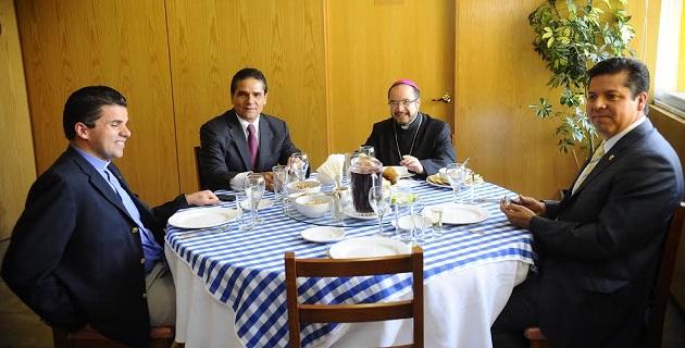 En este encuentro estuvo presente también el diputado federal Antonio García Conejo